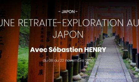 Retraite-exploration au Japon, ouverte à tous, du 8 au 22 novembre 2020- REPORTEE
