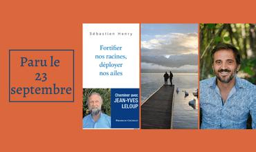23/09/2021 : Heureux de vous présenter mon nouveau livre paru sur l'oeuvre deJean-Yves Leloup